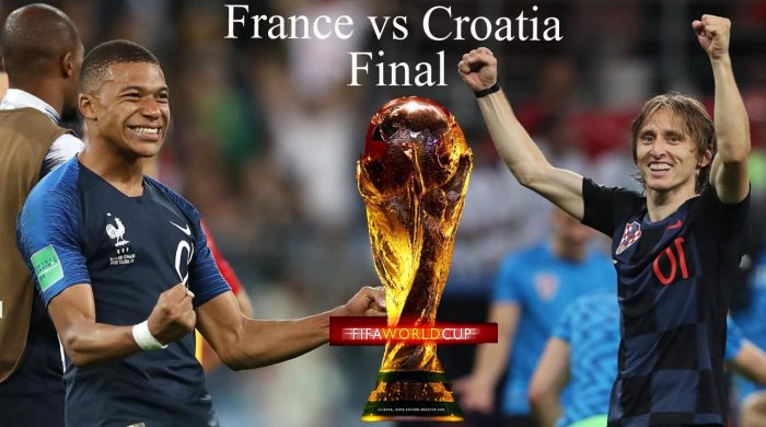 France vs Croatia : Fifa world cup final 2018