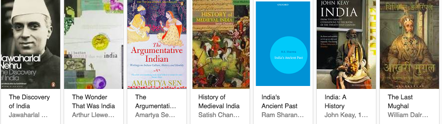Best Indian History Books