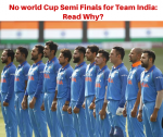 Will Arrogant Attitude Deprive India Upcoming World Cup in London?